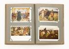 В двух альбомах 144 открытки в одном