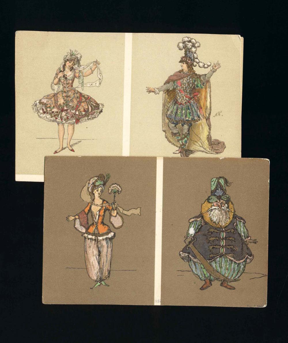 Картинки цветами, александр бенуа открытки
