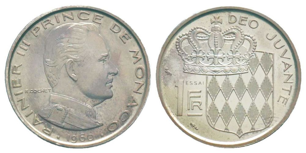 Bidspirit Auction Monaco Pi Eacute Fort De 1 Franc