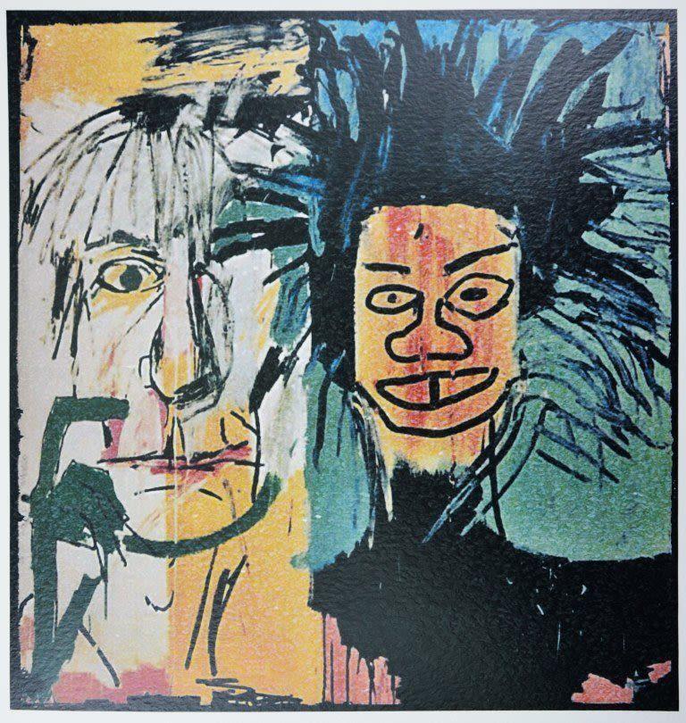 Bidspirit auction | Жан-Мишель Баския (1960–1988) Портрет Энди