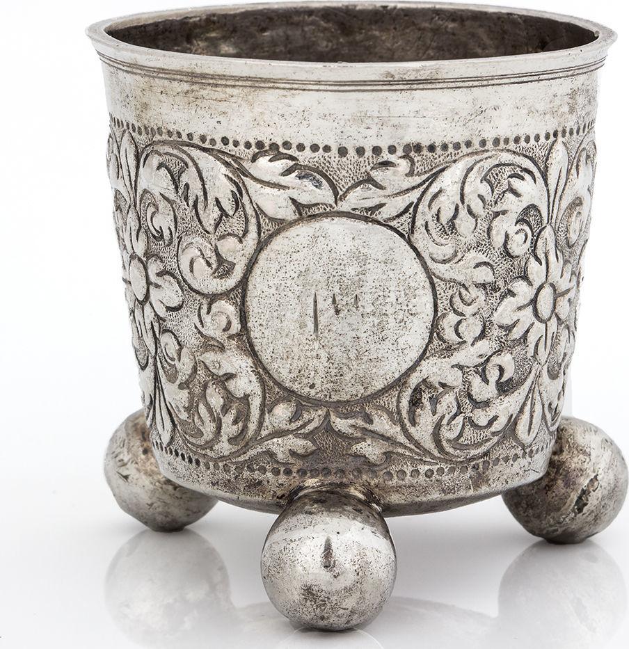 Bidspirit auction | A Small Silver Kiddush Cup,