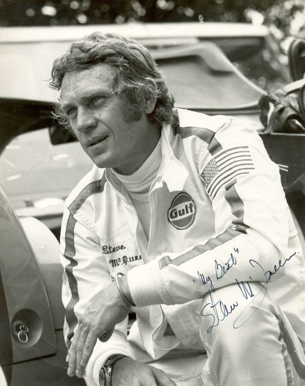 steve mcqueen in project to picture every sevenyearold - 720×912