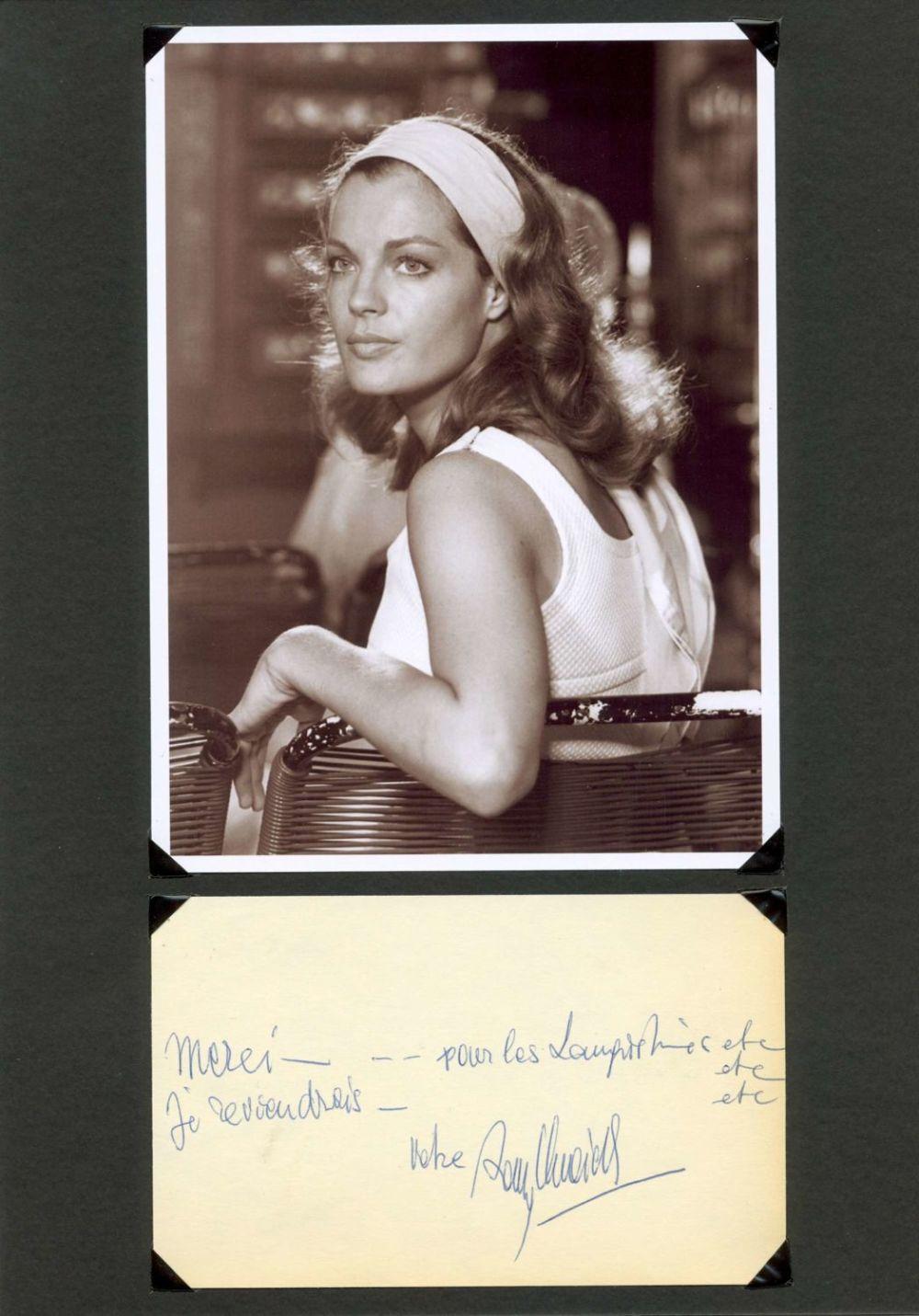 Bidspirit Auction Schneider Romy 1938 1982 Austrian German Actress