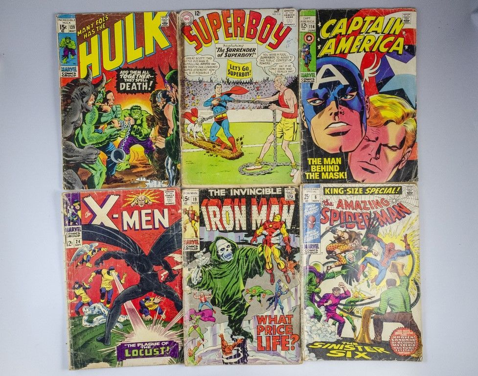 מדהים Bidspirit auction | חוברות קומיקס אמריקאיות JU-96