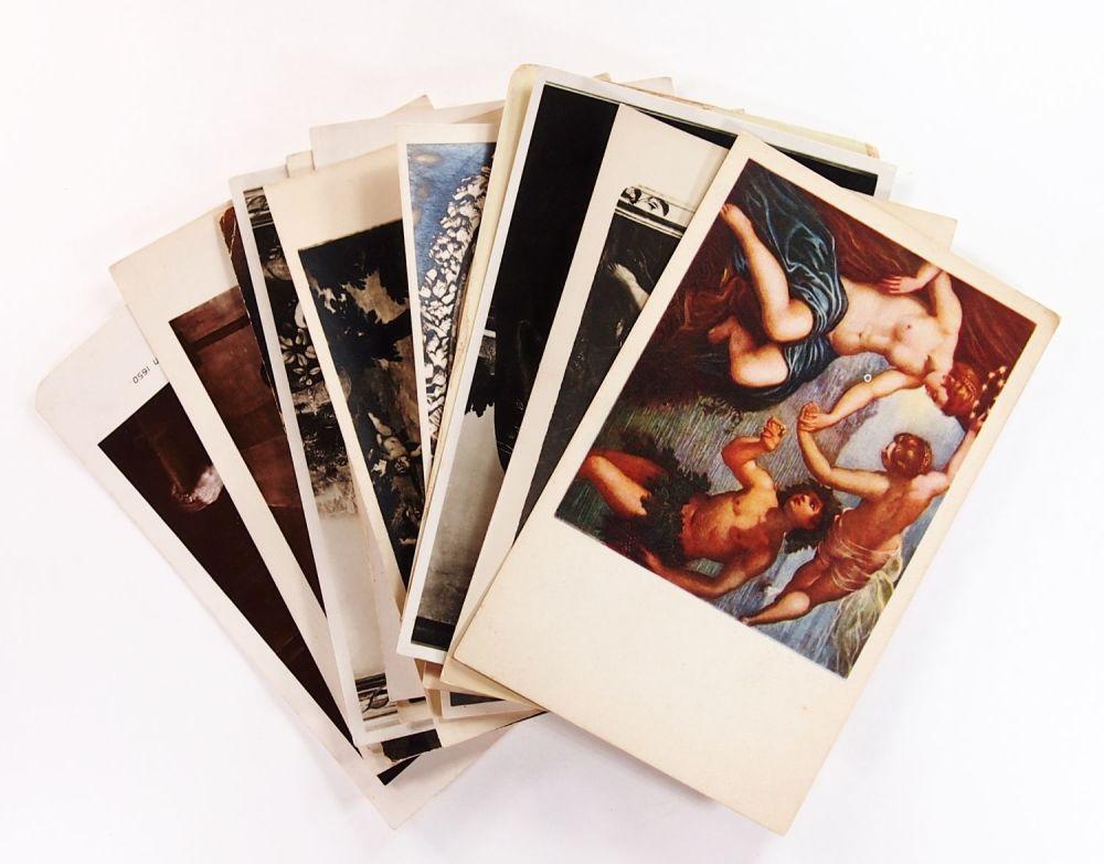 настоящее репродукции картин набор открыток тату