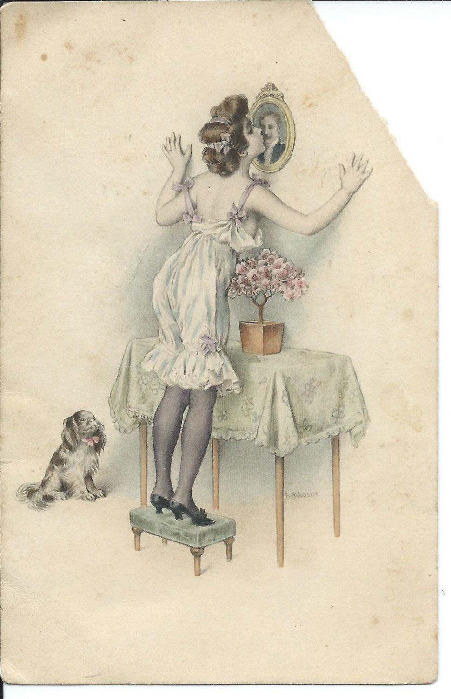 австрийские открытки 1912 года примеру