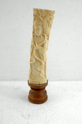 Bidspirit Auction Old And Quality Bone Carving