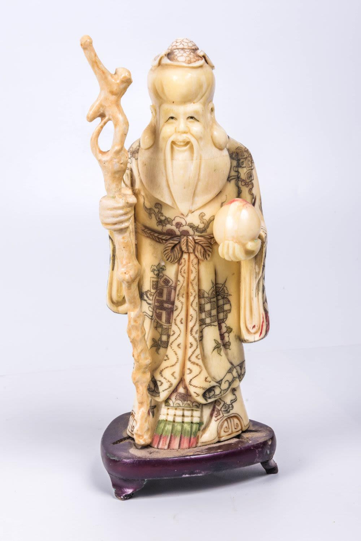 A Chinese Sage An Bidspirit Auction