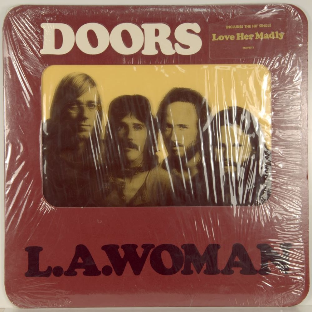 L.A. Woman is a music studio album recording by THE DOORS.