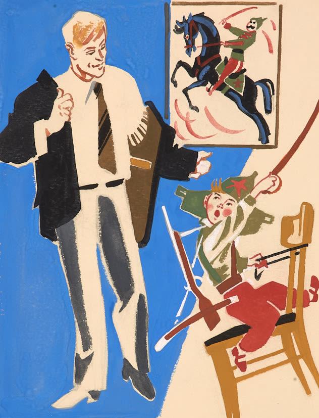 иллюстрации к произведениям маяковского картинки такие рисунки